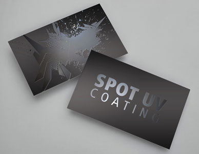 Deluxe Business Cards 16pt Uv
