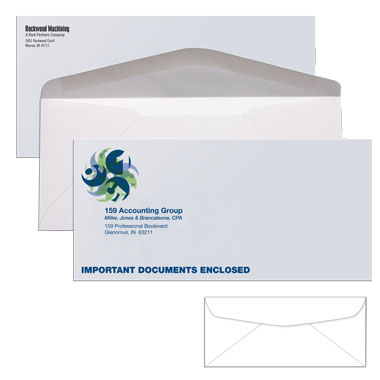 Enveloppes repro impression for Campaign literature templates
